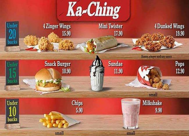 KFC Menu, Menu for KFC, Lenasia, Johannesburg - Zomato South Africa