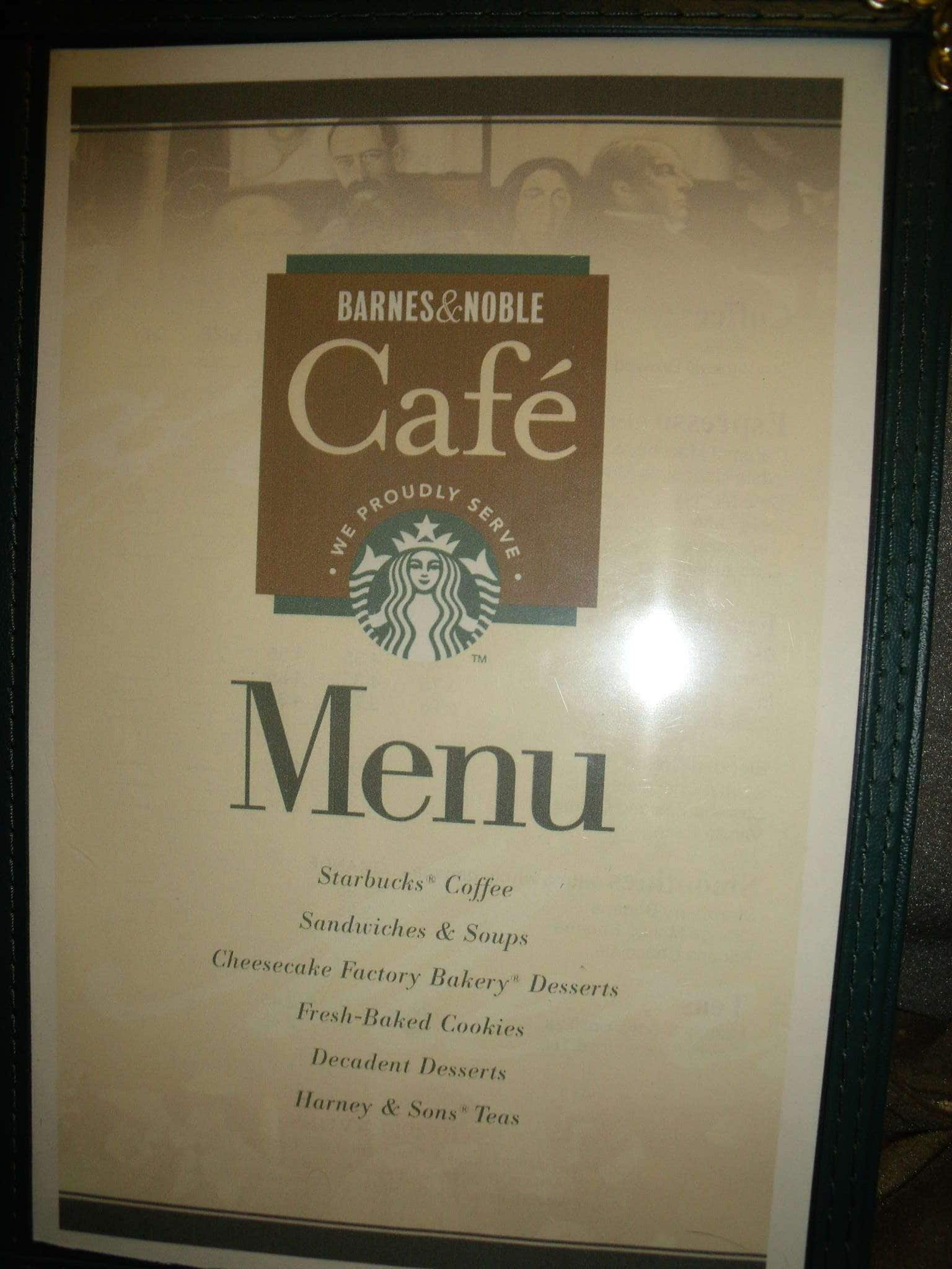Barnes and Noble Cafe Menu, Menu for Barnes and Noble Cafe ...