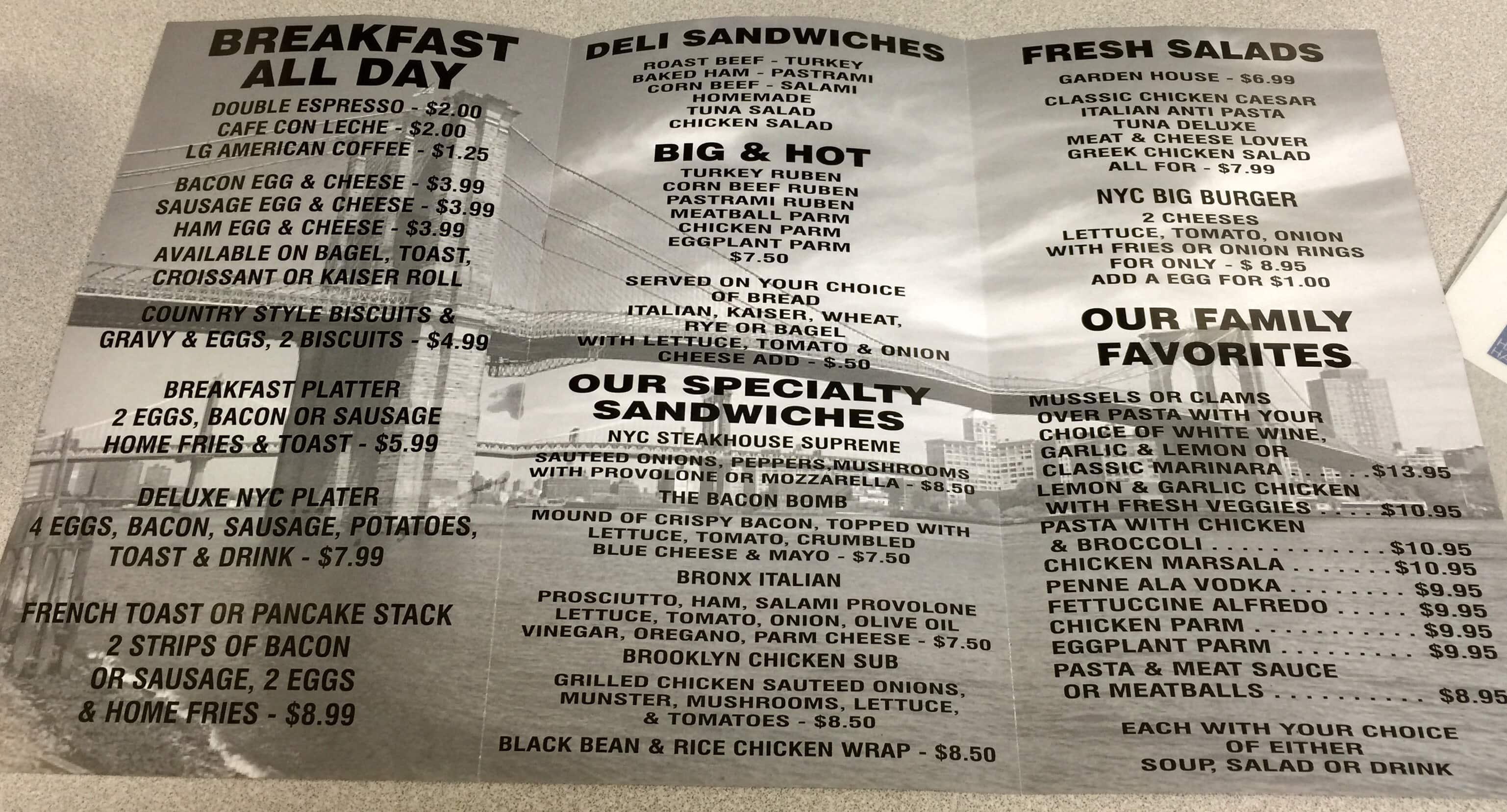 Nyc Sandwich Company