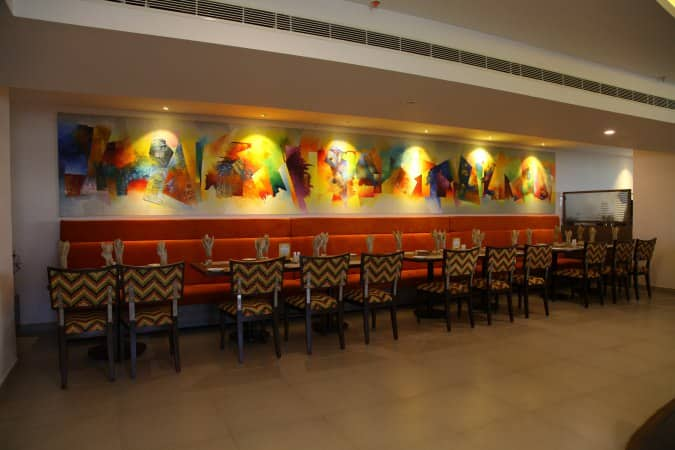 Utsav vegetarian restaurant jubilee hills hyderabad for Crystal 7 cuisine hyderabad